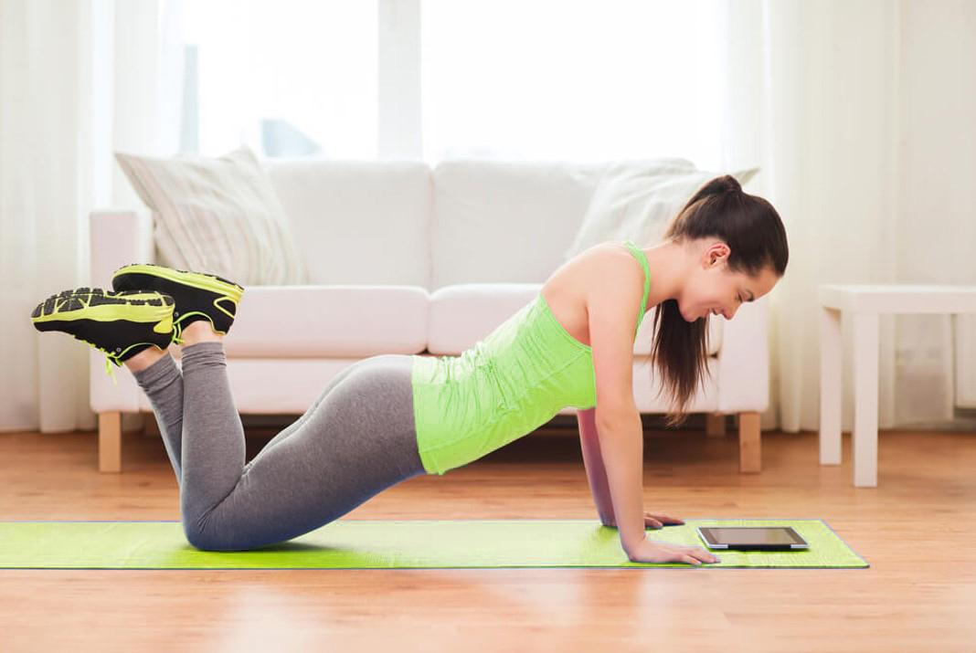 Foto de Dicas de exercícios para fazer em casa durante o período de quarentena