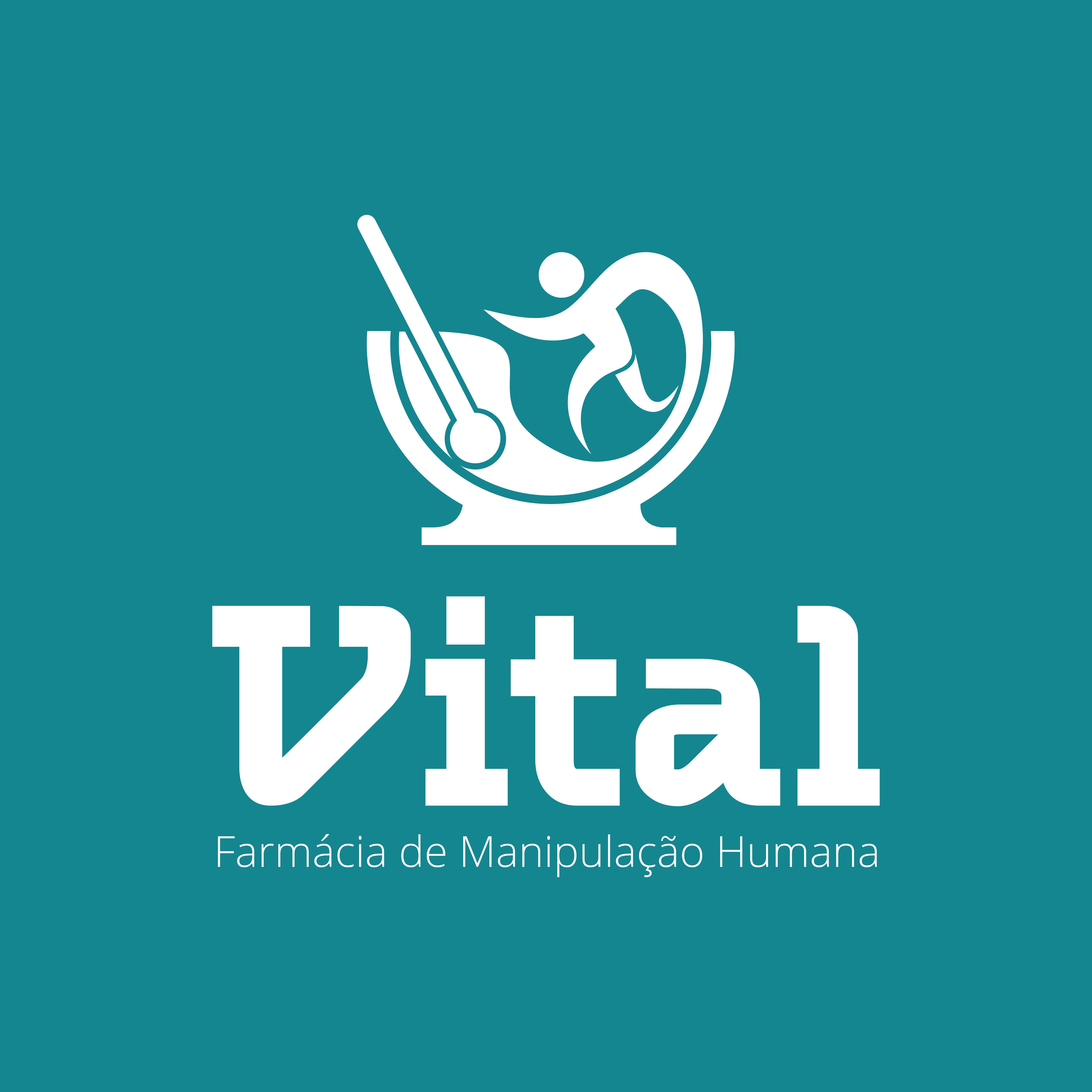 Logo de Vital Farmácia de Manipulação